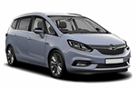 Opel Zafira from GoldCar