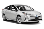 Toyota Prius Hybrid from Green Motion