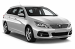 Peugeot 308 Estate/Wagon from WOW Rent