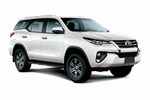TOYOTA FORTUNER 4WD 2.7 from Europcar