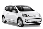VOLKSWAGEN UP 1.0 from Europcar