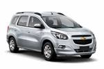 CHEVROLET SPIN 1.8 from Keddy by Europcar