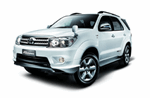 Toyota Fortuner from Red River